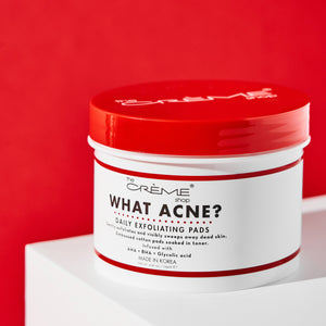 What Acne? - Daily Exfoliating Pads Exfoliators The Crème Shop