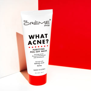 What Acne? - Purifying Peel-Off Mask Exfoliators The Crème Shop