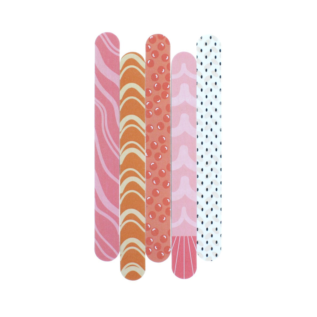 Eda Mani - Set of 5 Nail Files - The Crème Shop