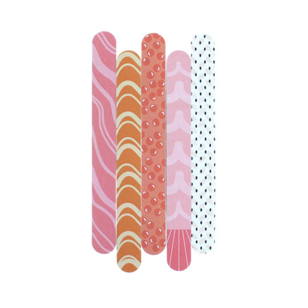 Eda Mani - Set of 5 Nail Files - the-creme-shop-cosmetics-and-beauty-supply