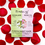 Squalane & Rose Oil Fusion Sheet Mask Fusion Sheet Masks The Crème Shop