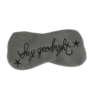 Say Goodnight Sleep Mask - The Crème Shop
