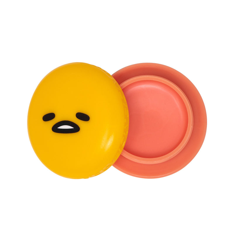 Gudetama Macaron Lip Balm - Peach Gummies - The Crème Shop