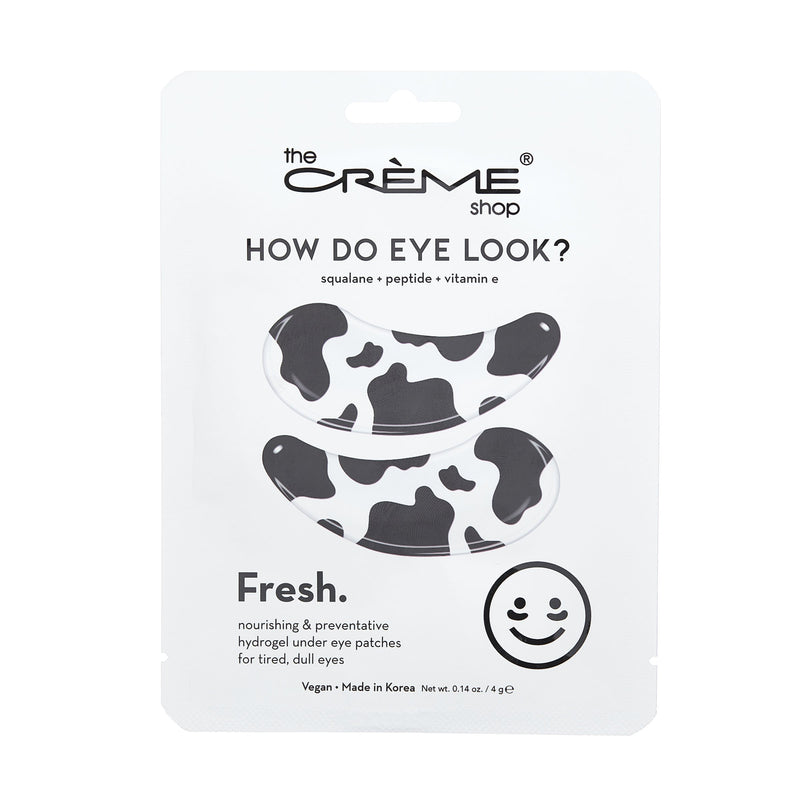 How Do Eye Look? Fresh - Under Eye Patches for nourishing & revitalizing - The Crème Shop