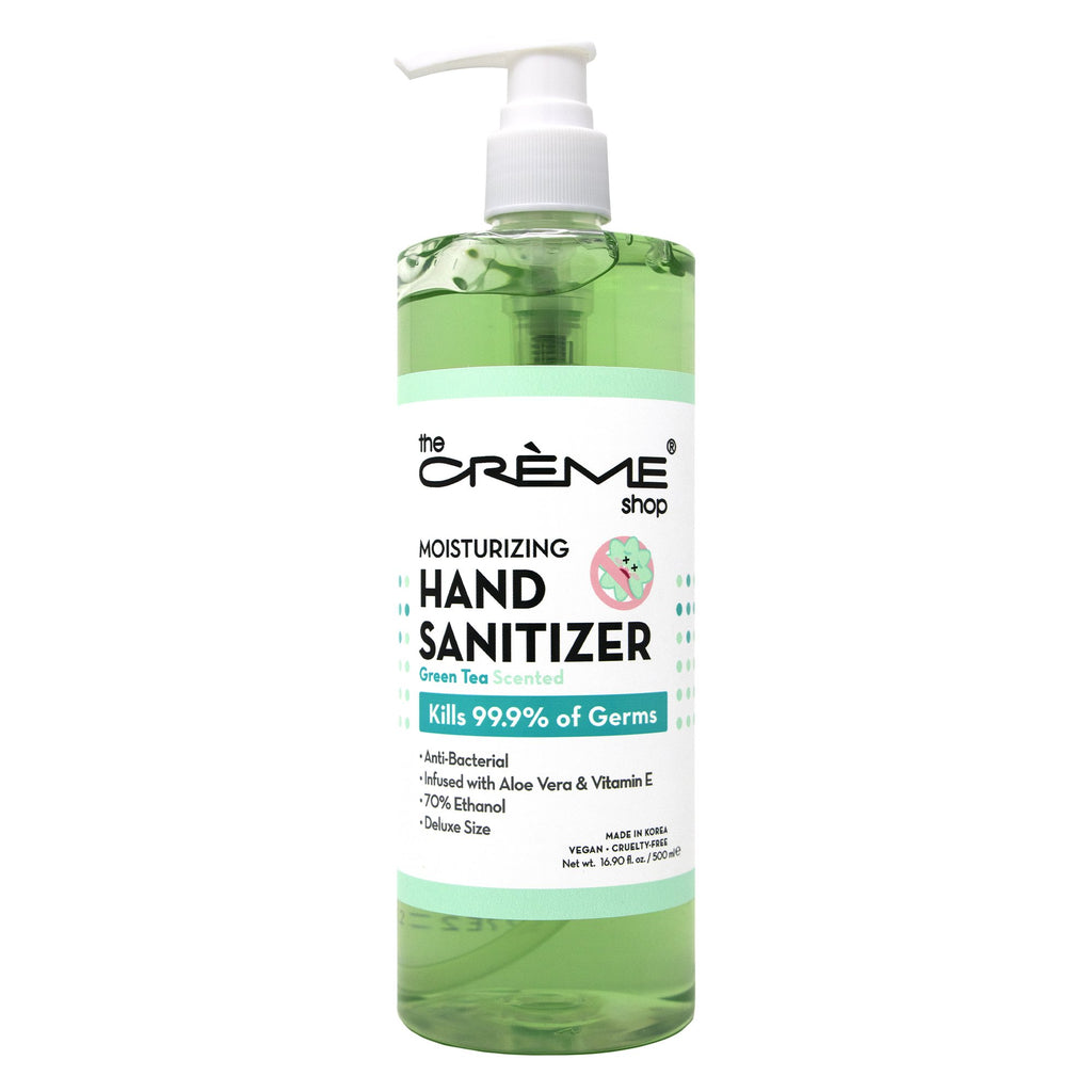 Moisturizing Hand Sanitizer - Green Tea Scented The Crème Shop