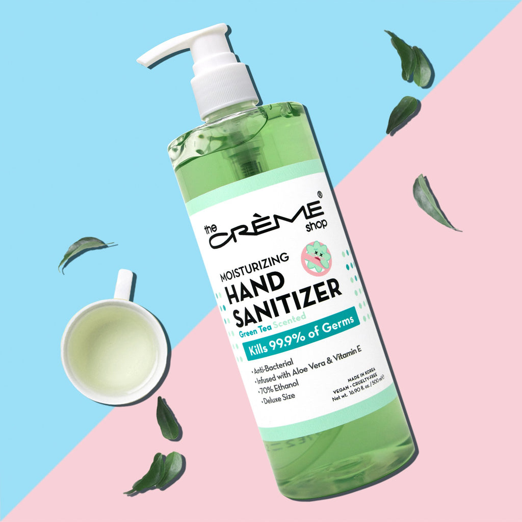 Moisturizing Hand Sanitizer - Green Tea Scented Hand Sanitizer The Crème Shop