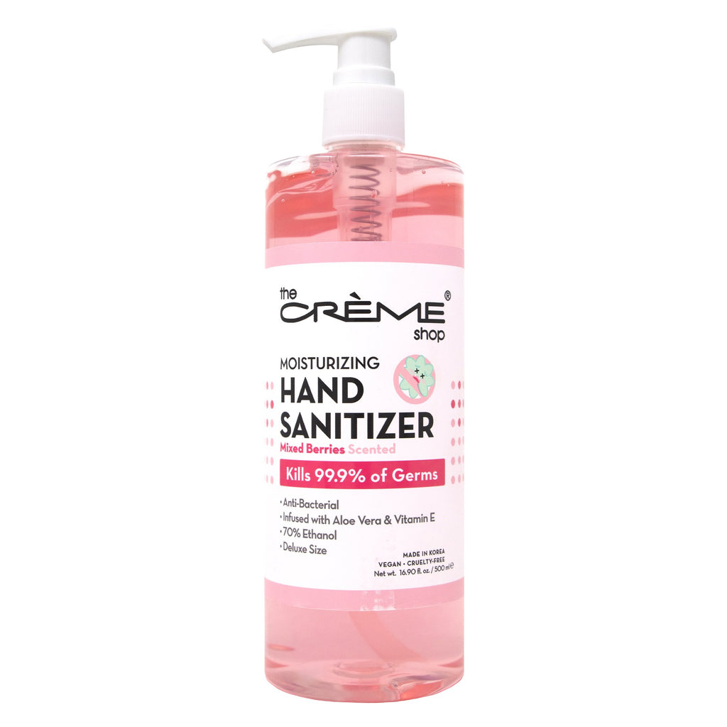 Moisturizing Hand Sanitizer - Mixed Berries Scented Hand Sanitizer The Crème Shop