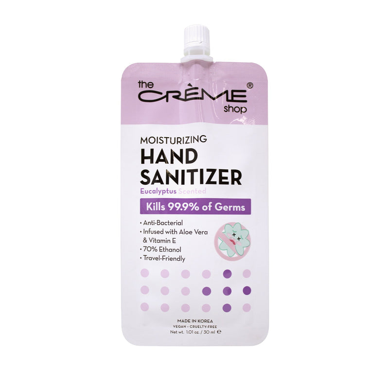 Moisturizing Hand Sanitizer - Eucalyptus Scented - The Crème Shop