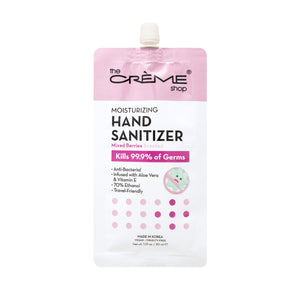 Moisturizing Hand Sanitizer - Mixed Berries Scented - The Crème Shop