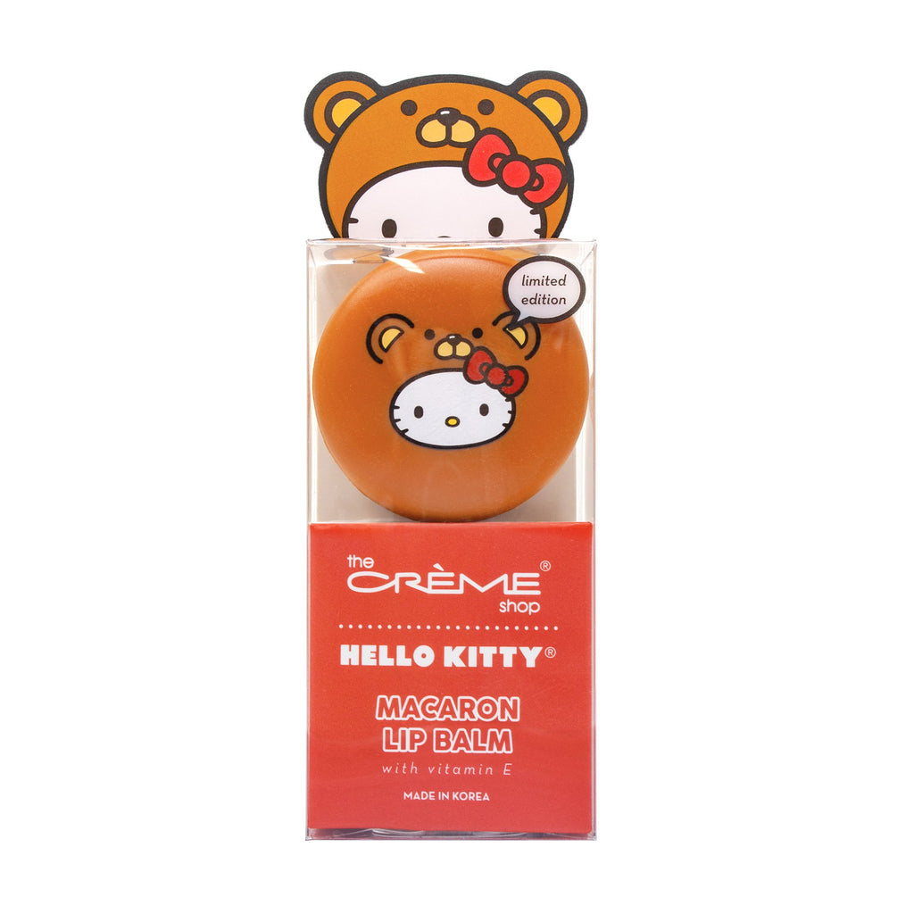 Hello Kitty Macaron Lip Balm - Red Velvet Lip Balms The Crème Shop x Sanrio