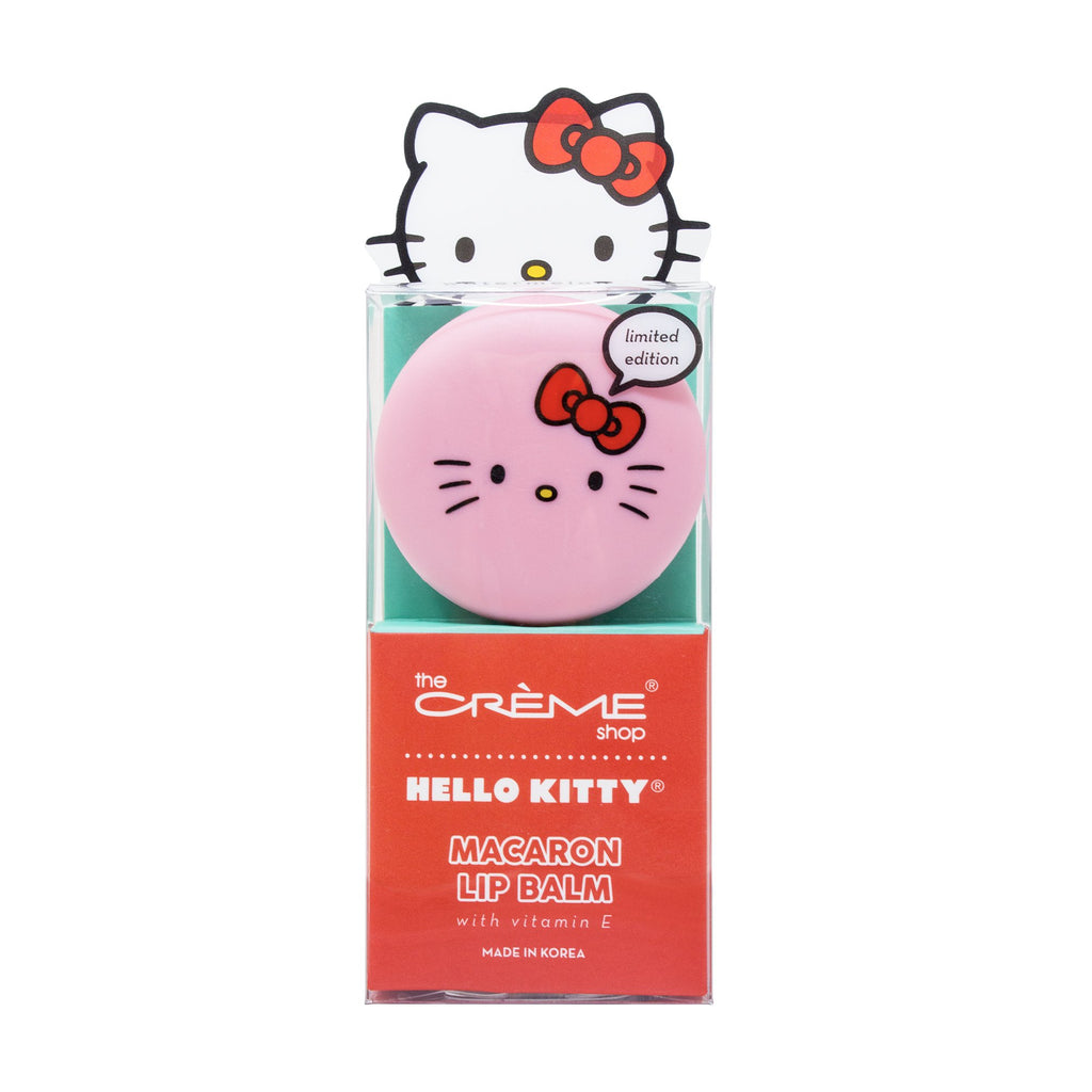 Hello Kitty Macaron Lip Balm - Watermelon Lip Balms The Crème Shop x Sanrio