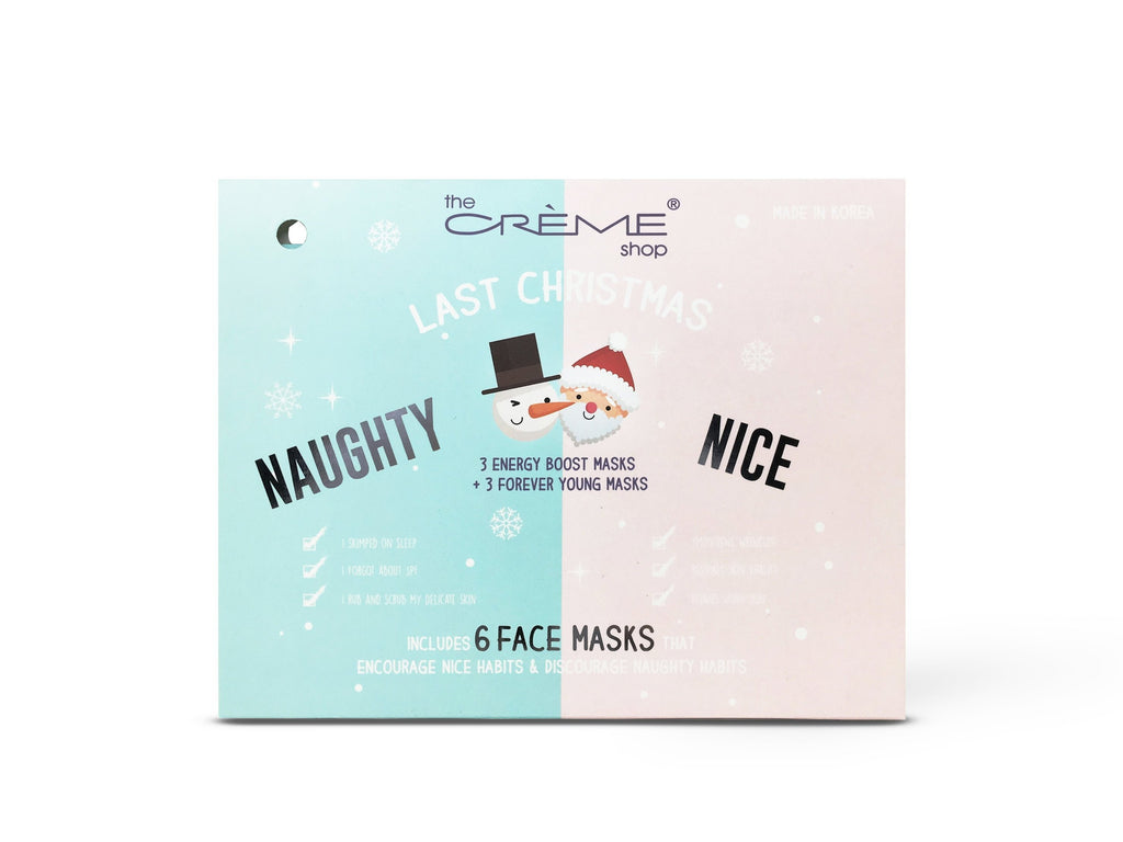 Last Christmas - Naughty & Nice 6 Face masks - the-creme-shop-cosmetics-and-beauty-supply
