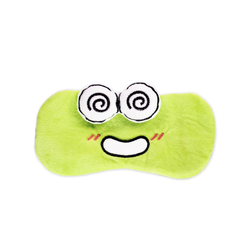 Keroppi Plushie Sleep Mask - The Crème Shop