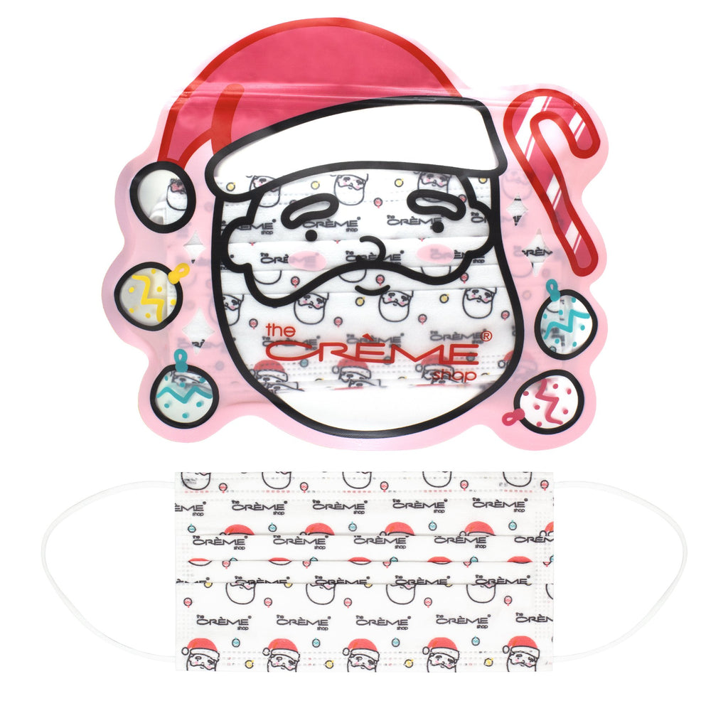 3-Ply Protective Face Mask - Ho Ho Ho (Disposable) - The Crème Shop