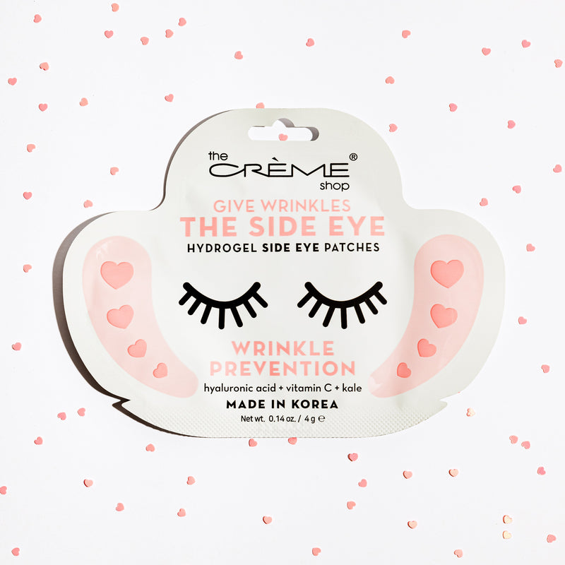 Give Wrinkles The Side Eye - Hydrogel Side Eye Patches, Wrinkle Prevention Side Eye Patches The Crème Shop