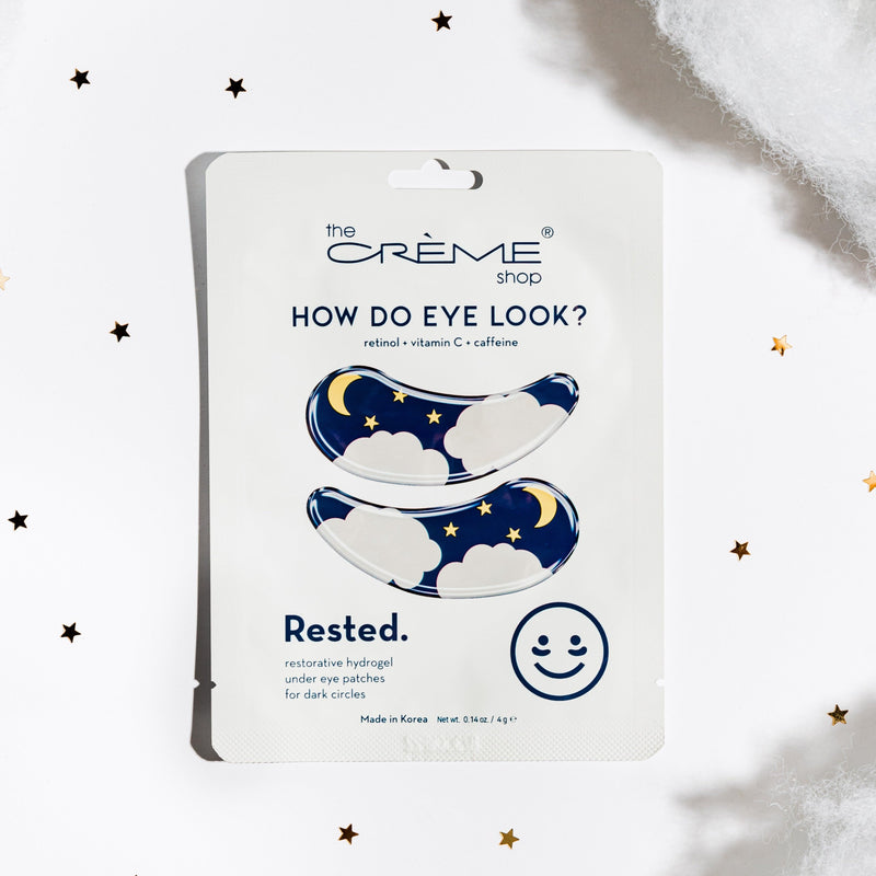 How Do Eye Look? - Rested Under Eye Patches for dark circles Under Eye Patches The Crème Shop