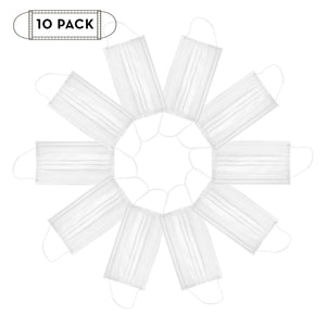 10 ct. Protective Mask (Disposable, 3-Ply, Non-Medical) - The Crème Shop