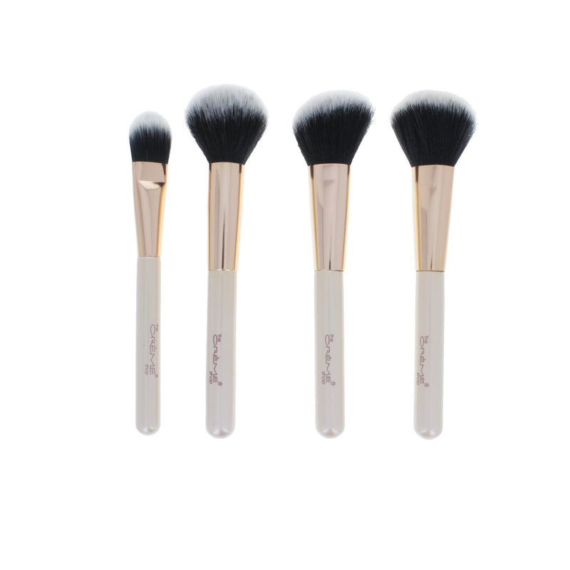 Swept Away - 4 Piece Luxury Brush Collection - The Crème Shop