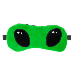 A-Sleepy Alien Plush Sleep Mask - The Crème Shop