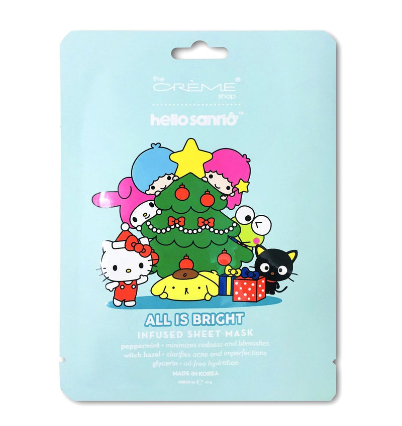 Hello Sanrio - All Is Bright Sheet Masks - The Crème Shop