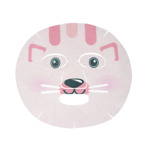 Calm Down, Skin! Animated Kitty Face Mask - Soothing Pink Grapefruit - The Crème Shop