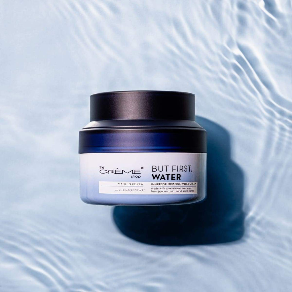 But First, Water - Immersive Moisture Water Cream - The Crème Shop