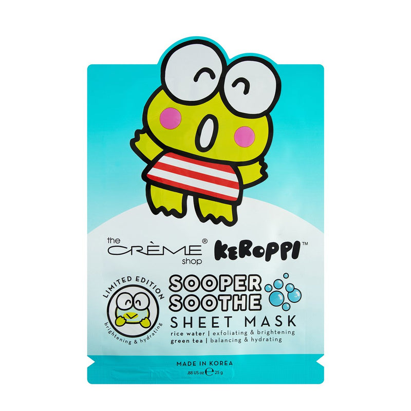 Keroppi Sooper Soothe Sheet Mask - The Crème Shop
