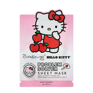Hello Kitty Problem Solver Sheet Mask - The Crème Shop