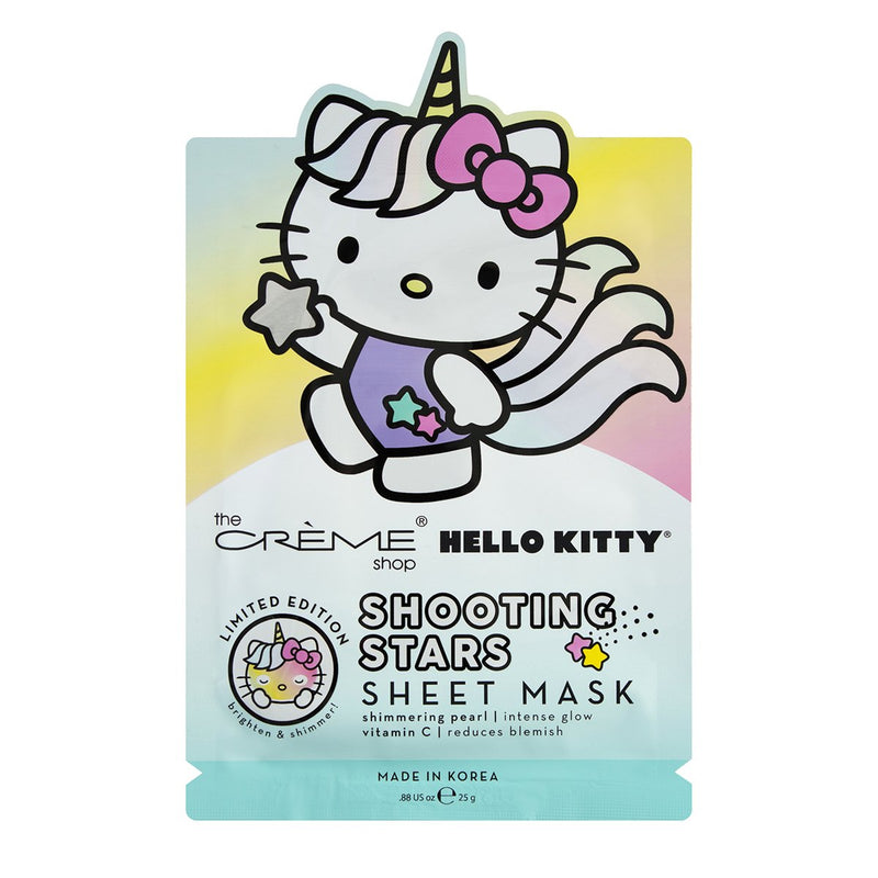 Hello Kitty Unicorn Shooting Stars Sheet Mask Sheet Masks The Crème Shop x Sanrio