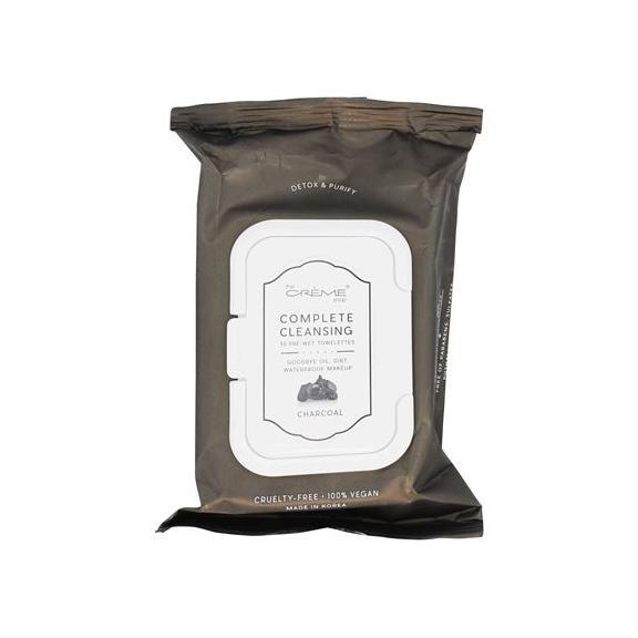 Clear the way! Charcoal Pre-Wet Towelettes - the-creme-shop-cosmetics-and-beauty-supply