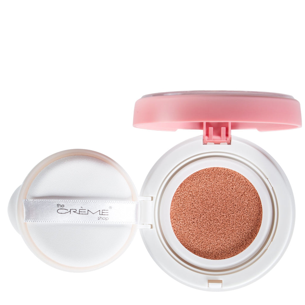 """Clean Canvas""  Color Correcting Cushion Primer Pink - The Crème Shop"