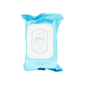 Complete Cleansing Collagen Pre-Wet Towelettes, Towelettes - The Crème Shop