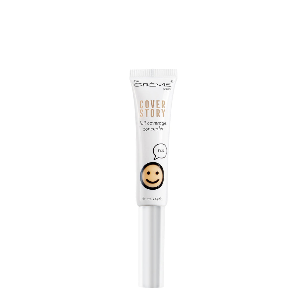 """Cover Story"" Full Coverage Concealer Cosmetics - face The Crème Shop Fair (Concealer)"