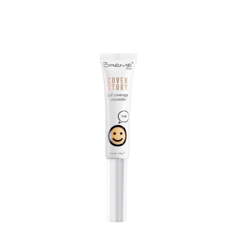 """Cover Story"" Full Coverage Concealer - The Crème Shop"