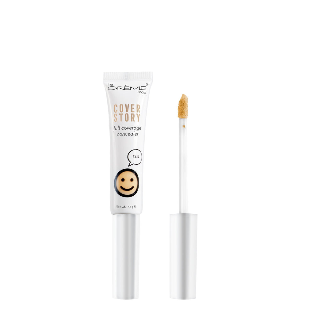 """Cover Story"" Full Coverage Concealer in Fair - The Crème Shop"