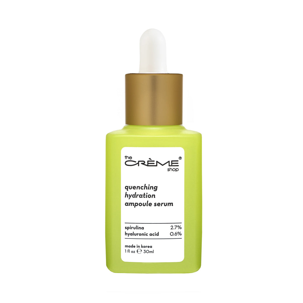 Quenching Hydration Ampoule Serum - Crèmecoction Spirulina + Hyaluronic Acid - The Crème Shop