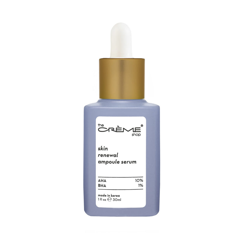 Skin Renewal Ampoule Serum - Crèmecoction AHA + BHA - The Crème Shop