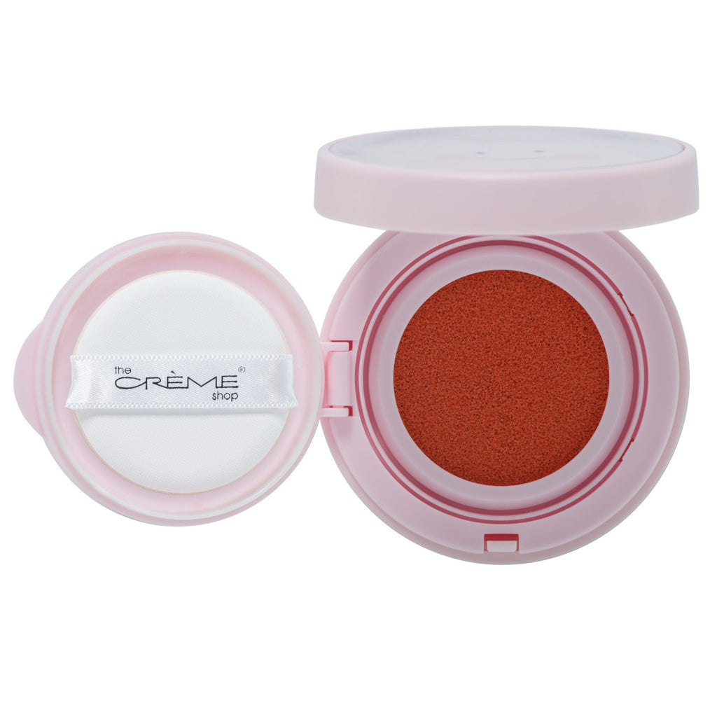 """Très Cheek"" Cushion Blush C'est la Peach - The Crème Shop"