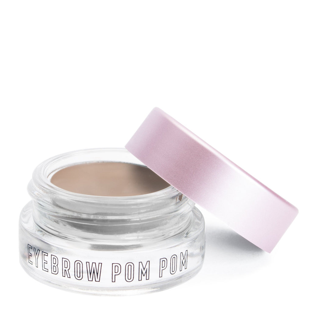 """Eyebrow Pom Pom"" Ash Brown - The Crème Shop"