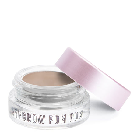 """Eyebrow Pom Pom"" Ash Brown - the-creme-shop-cosmetics-and-beauty-supply"