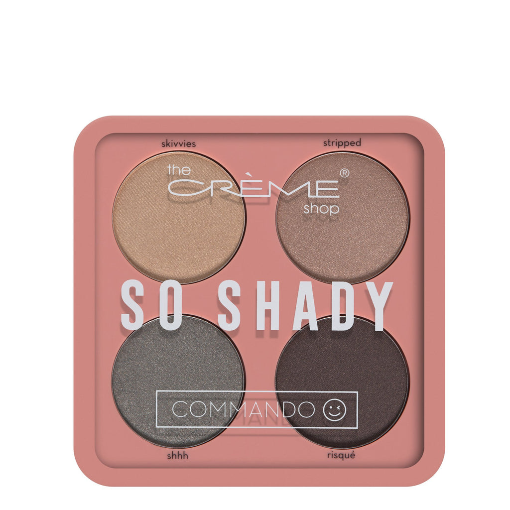 """So Shady"" Eyeshadow Palette Commando - the-creme-shop-cosmetics-and-beauty-supply"
