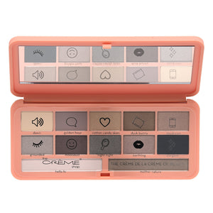 """So Shady"" Large Eyeshadow Palette The Nudist - The Crème Shop"