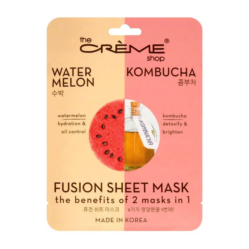 Watermelon & Kombucha Fusion Sheet Mask - The Crème Shop