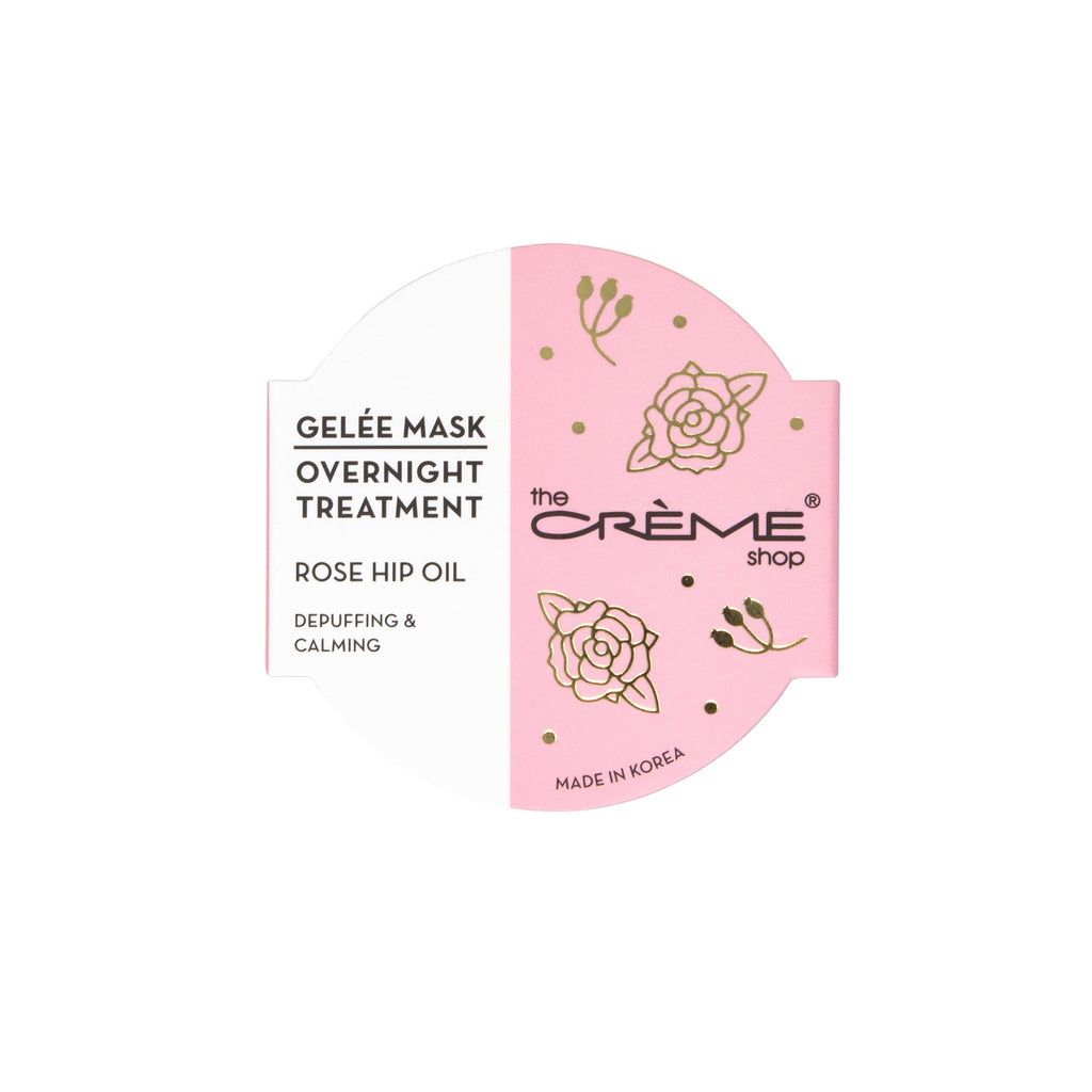 Holiday Rose Hip Oil Gelée Mask Overnight Treatment - The Crème Shop