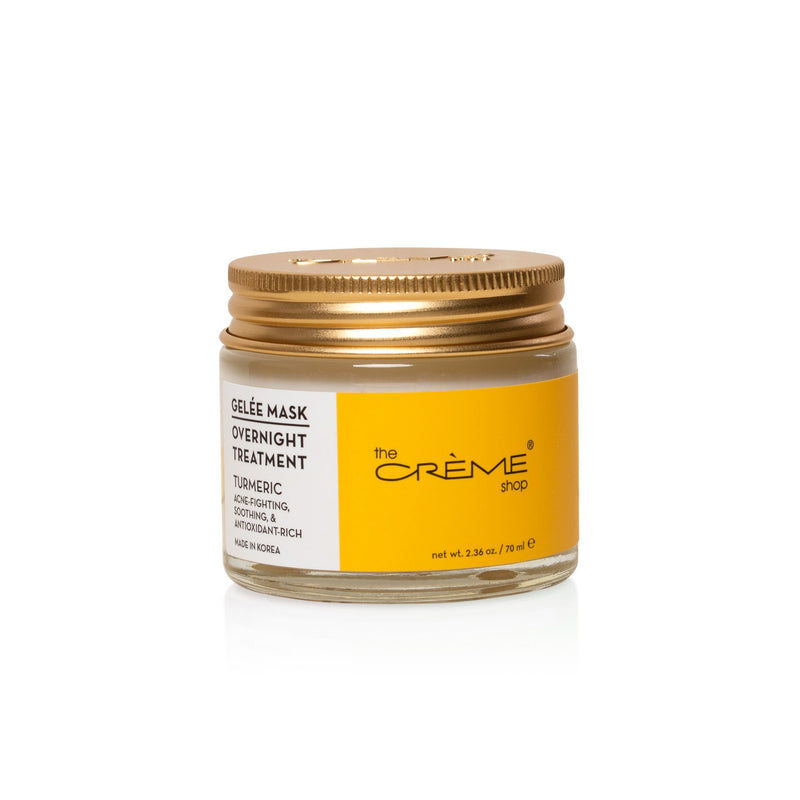 Turmeric Gelée Mask Overnight Treatments - The Crème Shop