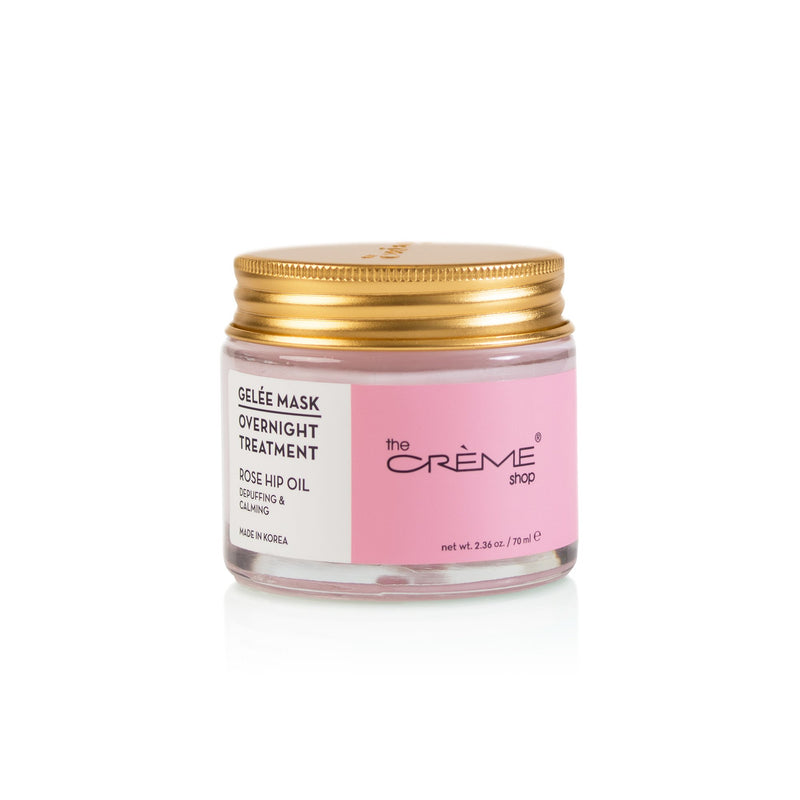 Rose Hip Oil Gelée Mask Overnight Treatments - The Crème Shop