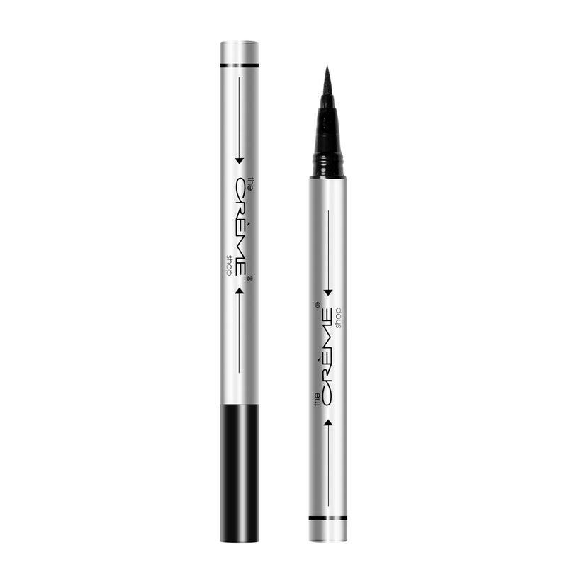 """Get In Line"" Felt Tip Eyeliner Marker Black - The Crème Shop"