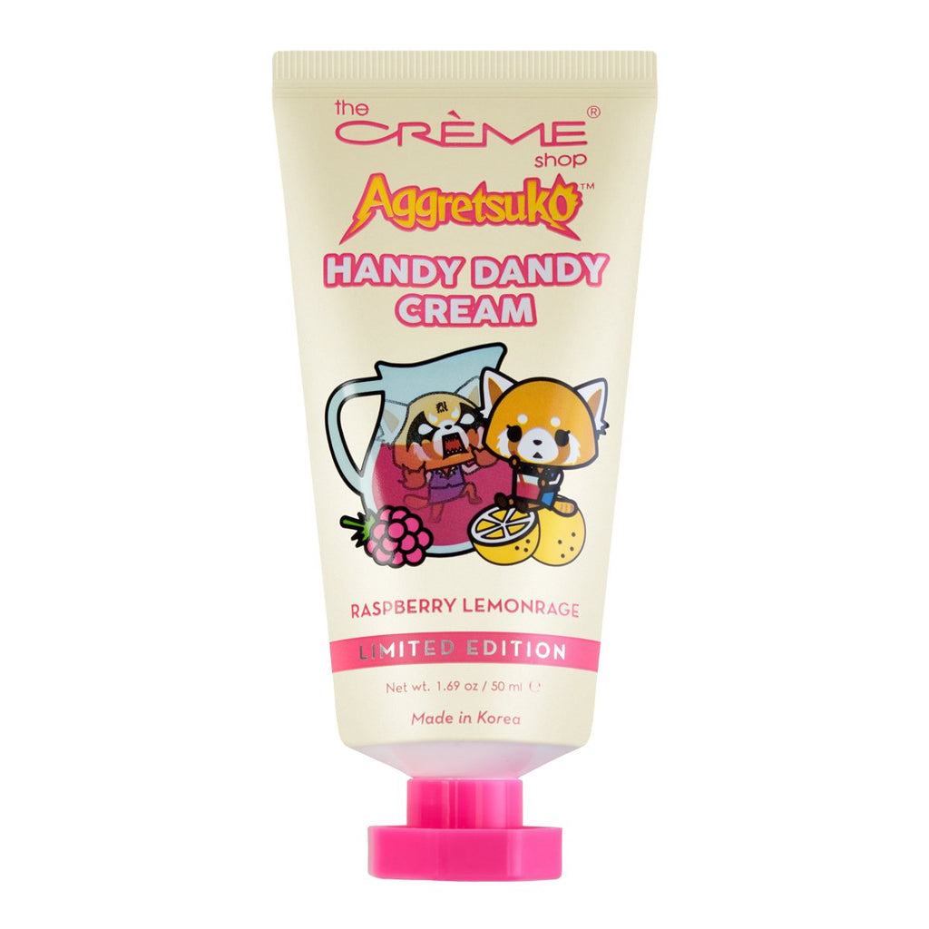 Aggretsuko Handy Dandy Cream - Raspberry Lemonrage - The Crème Shop