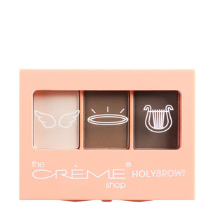 """Holy Brow!"" Eyebrow Trio with Brush + Spooley Medium - The Crème Shop"