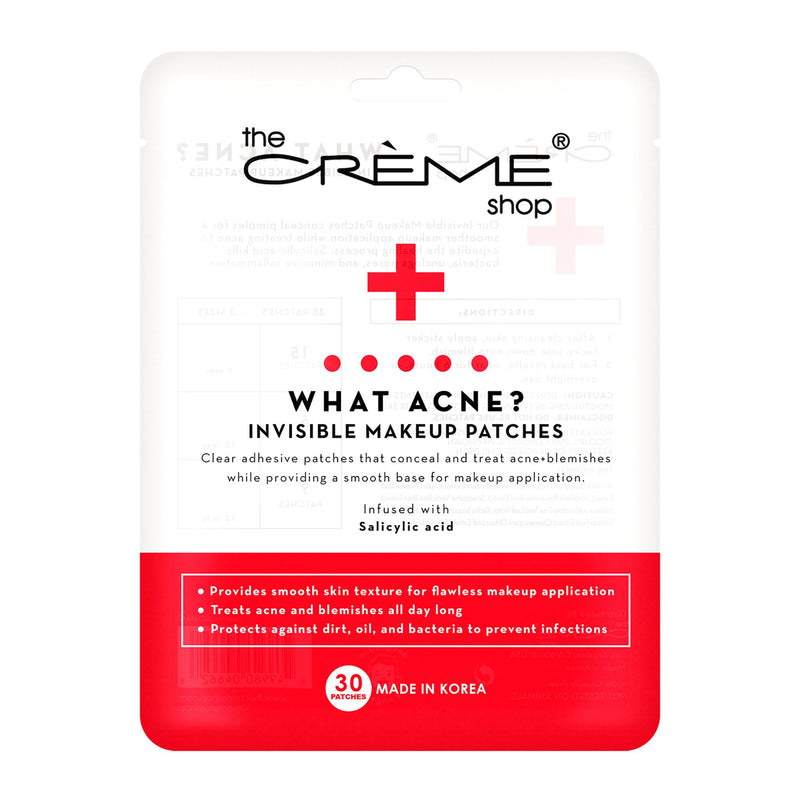 What Acne? - Invisible Makeup Patches - The Crème Shop